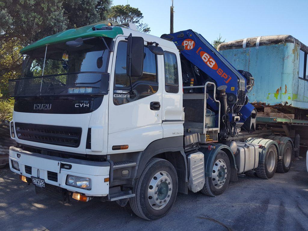 Isuzu 8x4 Tractor with Crane | Jaks Trucks Ltd